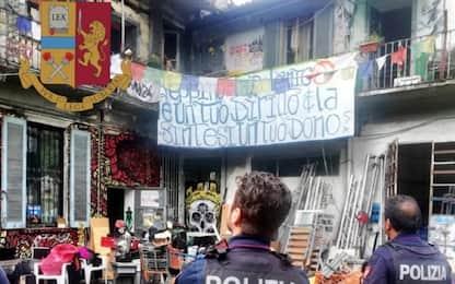 Milano, sgomberato palazzo occupato da 'Pirati Riot' in via Cozzi