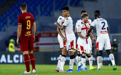 Roma-Genoa 3-3: video, gol e highlights della partita di Serie A