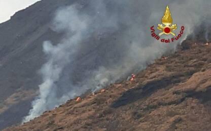 Eruzione Stromboli, cessa la fuoriuscita di lava ma resta emergenza