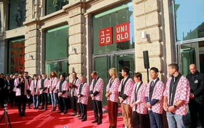 Inaugurato a Milano il primo negozio Uniqlo in Italia. FOTO