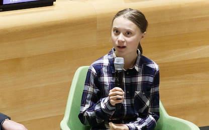 """Il monito di Greta all'Onu: """"Noi giovani siamo inarrestabili"""""""