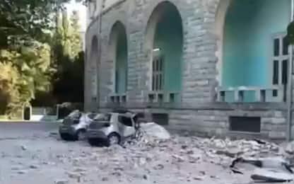 Terremoto in Albania, scossa di magnitudo 5.8: crolli e feriti