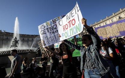 """Fridays for Future, presidi controcorrente a Roma: """"Conteremo assenze"""""""