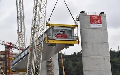 Genova, il nuovo ponte a 414 giorni dal crollo del Morandi