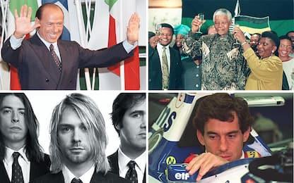 1994, un anno cruciale non solo in Italia: ecco cosa è successo