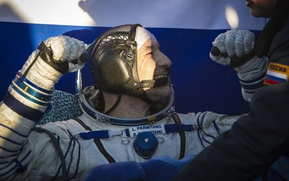 Luca Parmitano è rientrato sulla Terra. VIDEO e FOTO