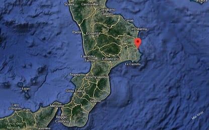 Terremoto Crotone, scossa di magnitudo 3.7