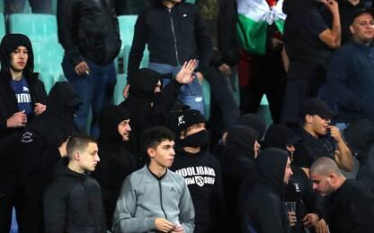 Bulgaria-Inghilterra sospesa due volte per cori razzisti. VIDEO