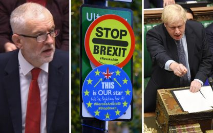 Brexit, ok Labour a elezioni anticipate: Gb si avvia a voto il 12/12