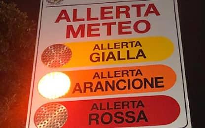 Maltempo, nel Lazio domenica allerta arancione per temporali