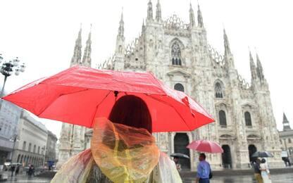 Maltempo in Lombardia, allerta meteo arancione nel bacino di Milano