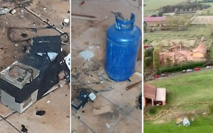 Esplosione in cascina: morti 3 vigili, indagine per omicidio e crollo