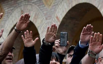 """""""Saluto romano non è reato"""": due assolti a Sanremo"""