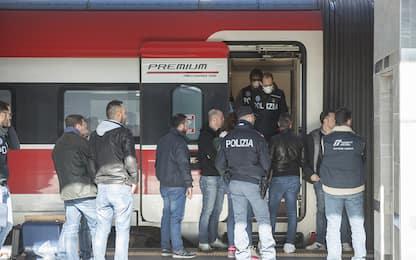 Bologna, accoltellamento su un Frecciarossa. FOTO