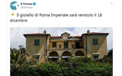 Forte dei Marmi, Villa Siemens all'asta per 12 milioni