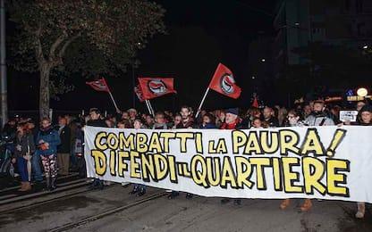 Roma, incendi Centocelle: ieri sera seconda passeggiata di autodifesa