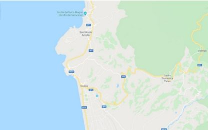 Terremoto di magnitudo 3.1 nel Tirreno meridionale