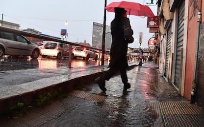 Maltempo, è allerta in tutto il Nord: danni in Liguria