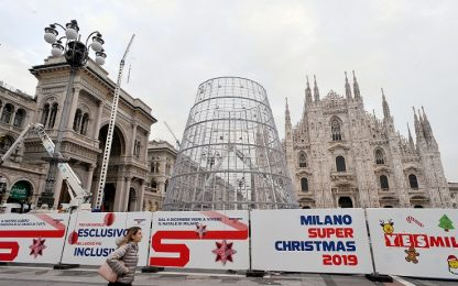 Milano, l'albero di Natale 2019 in Duomo sarà di metallo