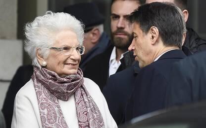 Milano, premier Conte visita memoriale della Shoah con Liliana Segre