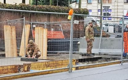 Torino, disinnesco della bomba di via Nizza: a rischio 34 voli