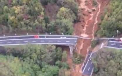 Crolla viadotto sulla A6, risolti problemi a rete Vodafone in Liguria