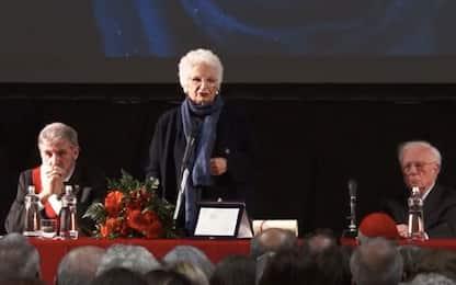 Liliana Segre cittadina onoraria di Genova