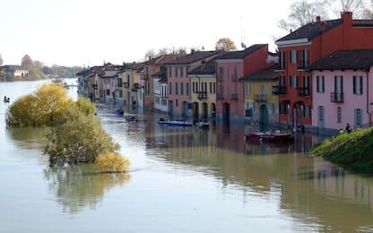 Maltempo, Ticino esonda a Pavia. Allerta per il Po. FOTO