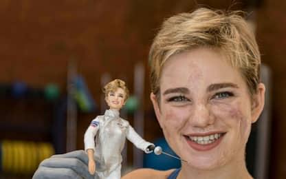 Una Barbie con il volto di Bebe Vio per il 60° anniversario