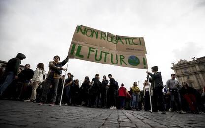 Fridays for Future, a Roma partecipazione ridotta