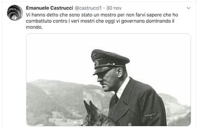 Professore Siena elogia Hitler: disposto sequestro profilo Twitter