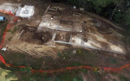 Roma, scoperta una Villa Rustica del III secolo a.C. alla Marcigliana