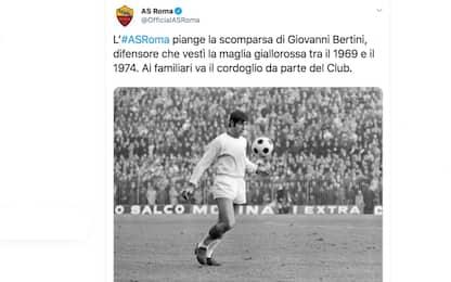 Calcio, addio a Giovanni Bertini: aveva la Sla