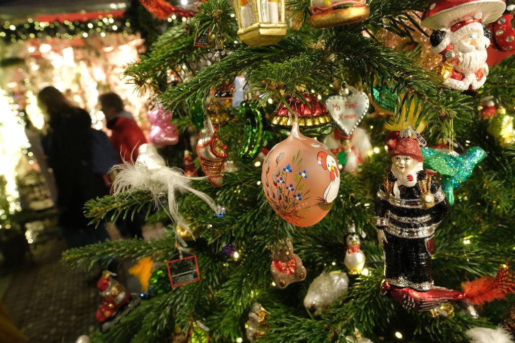 Addobbi Albero Natale.Albero Di Natale E Addobbi Tendenze E Novita 2019 Foto Sky Tg24