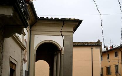 Firenze, terremoto Mugello: danni e scuole chiuse. FOTO