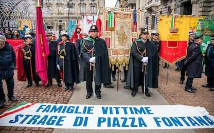 Piazza Fontana, in centinaia al corteo in ricordo delle vittime