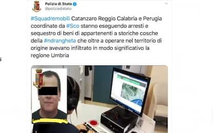 'Ndrangheta, le cosche infiltrate in Umbria: decine di arresti