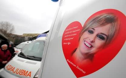 Nadia Toffa, a Milano inaugurate ambulanze a lei dedicate