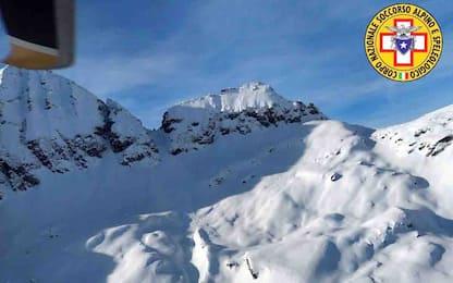 Valanghe sulle Alpi: tre vittime in Piemonte, Alto Adige e Val d'Aosta