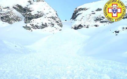 Morto lo sci-alpinista travolto da una valanga in quota nel Vercellese