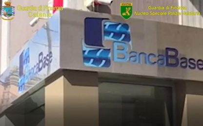 Catania, crack Banca Base: scarcerati presidente del Cda e Dg