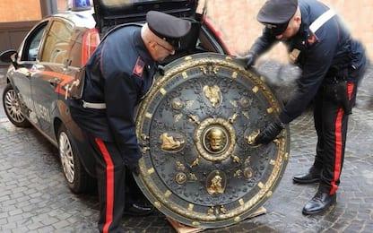 """Roma, ritrovato """"scudo di Garibaldi"""" a casa di un architetto"""