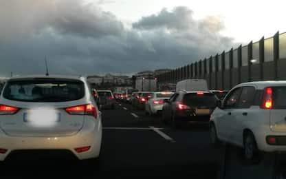 Traffico, disagi sull'A14: oltre 5 ore per fare meno di 150 km