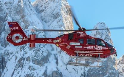 Un'altra valanga in Trentino, un morto sulle Dolomiti del Brenta