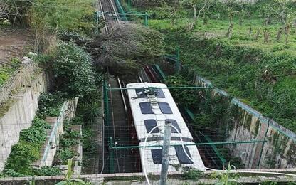 Maltempo, burrasca di vento a Capri: interrotti collegamenti marittimi