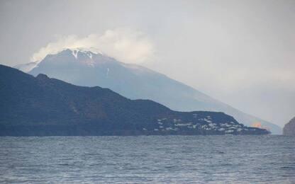 Stromboli, riprende l'attività eruttiva del vulcano