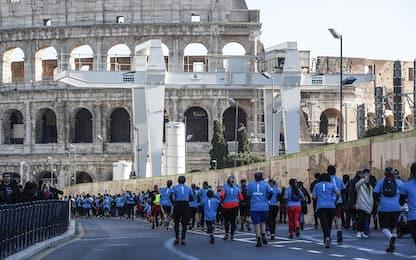 We Run Rome, in 10mila per maratona tra luoghi storici della Capitale