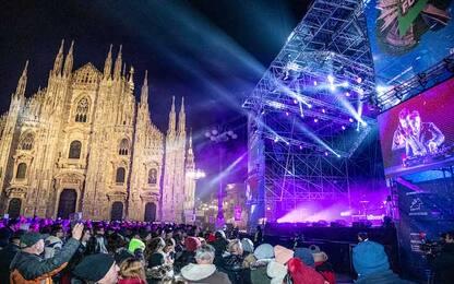 Capodanno a Milano: concerto Duomo senza problemi, ressa in altre vie