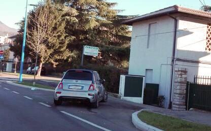 Balotelli, mini incidente con la sua auto guidata da un amico