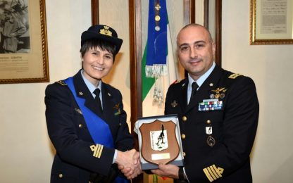 Samantha Cristoforetti ha lasciato l'Aeronautica Militare